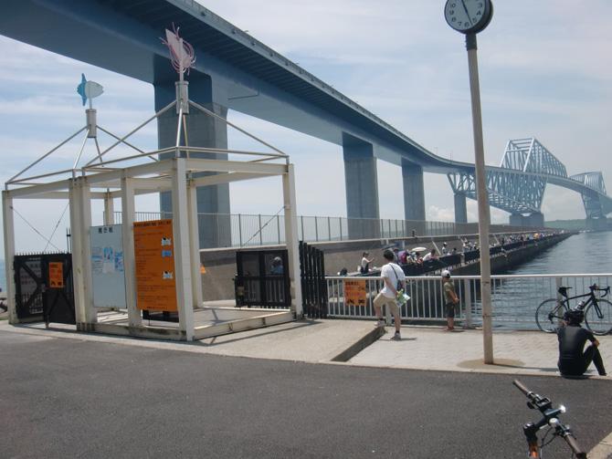 海釣り施設入り口