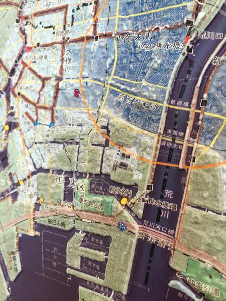 江東区立体地図