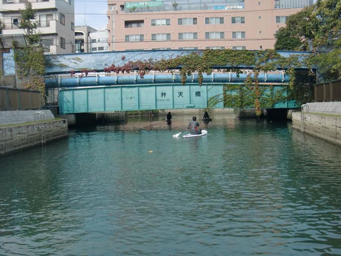 SUP 弁天橋