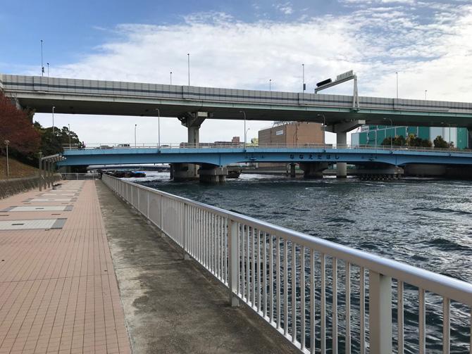潮見公園七枝橋側
