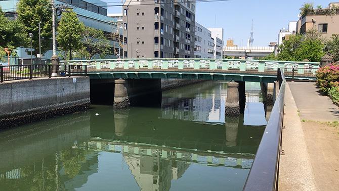 大島川西支川御船橋