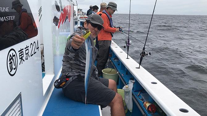 コンスタントにタチウオを釣る