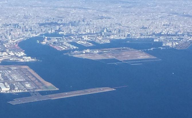 江東区臨海部航空写真