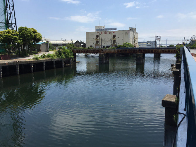 三井倉庫近所護岸