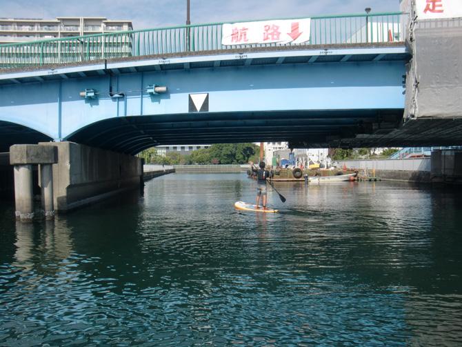 SUP 新砂橋界隈