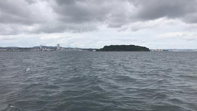 今回の中心的ポイント猿島周り